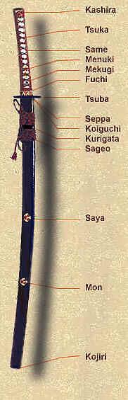 echtes japanisches katana